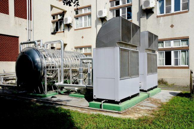 宿舍熱泵系統